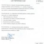 list referencyjny HOCHTIEF 2011