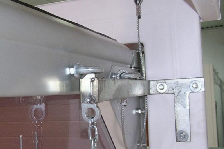 Brama wahadłowa wyposażenie