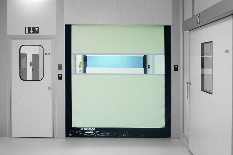 Szybkobieżna brama wewnętrzna do pomieszczeń czystych DYNACO D-311 CLEANROOM