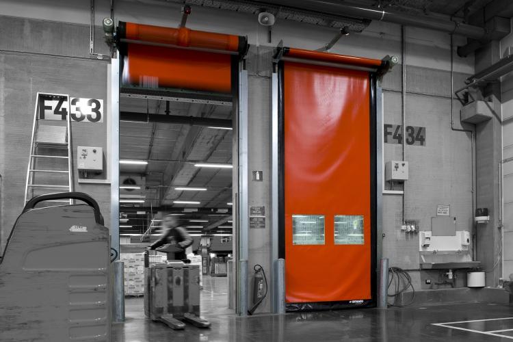 Szybkobieżna brama wewnętrzna DYNACO D-501 COMPACT