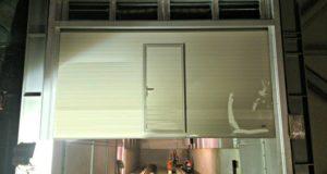 brama segmentowa w hucie