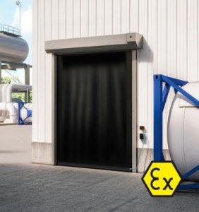 Brama szybkobiezna ATEX Dynaco