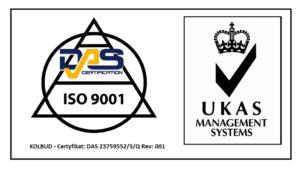 certyfikat DAS ISO